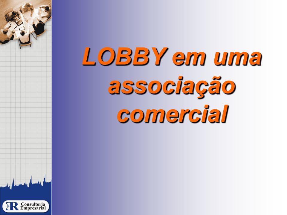LOBBY em uma associação comercial