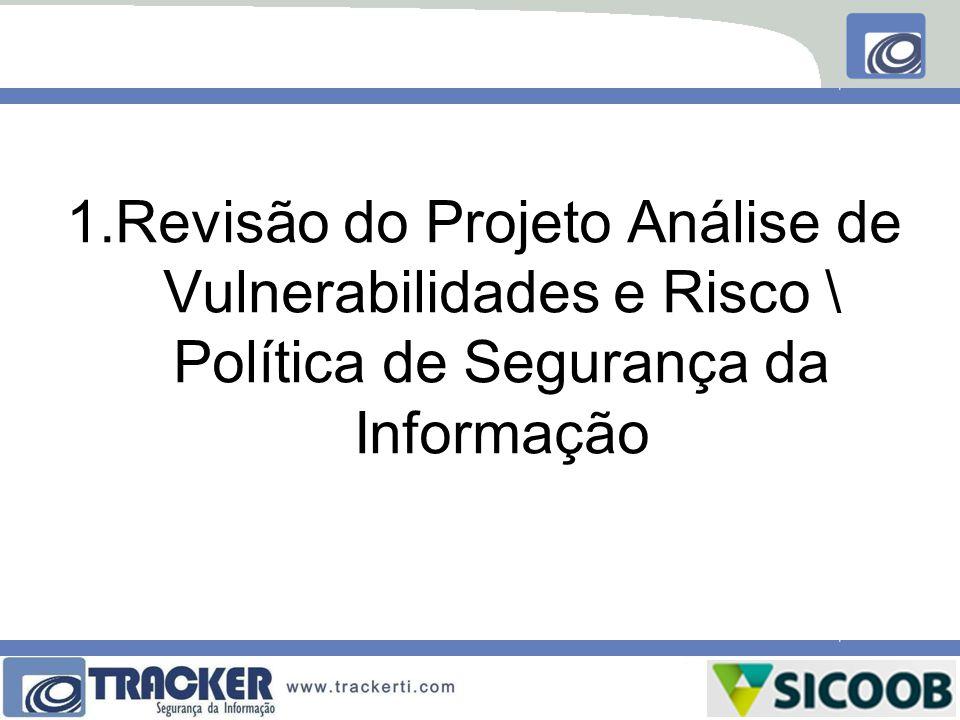1.Revisão do Projeto Análise de Vulnerabilidades e Risco \ Política de Segurança da Informação