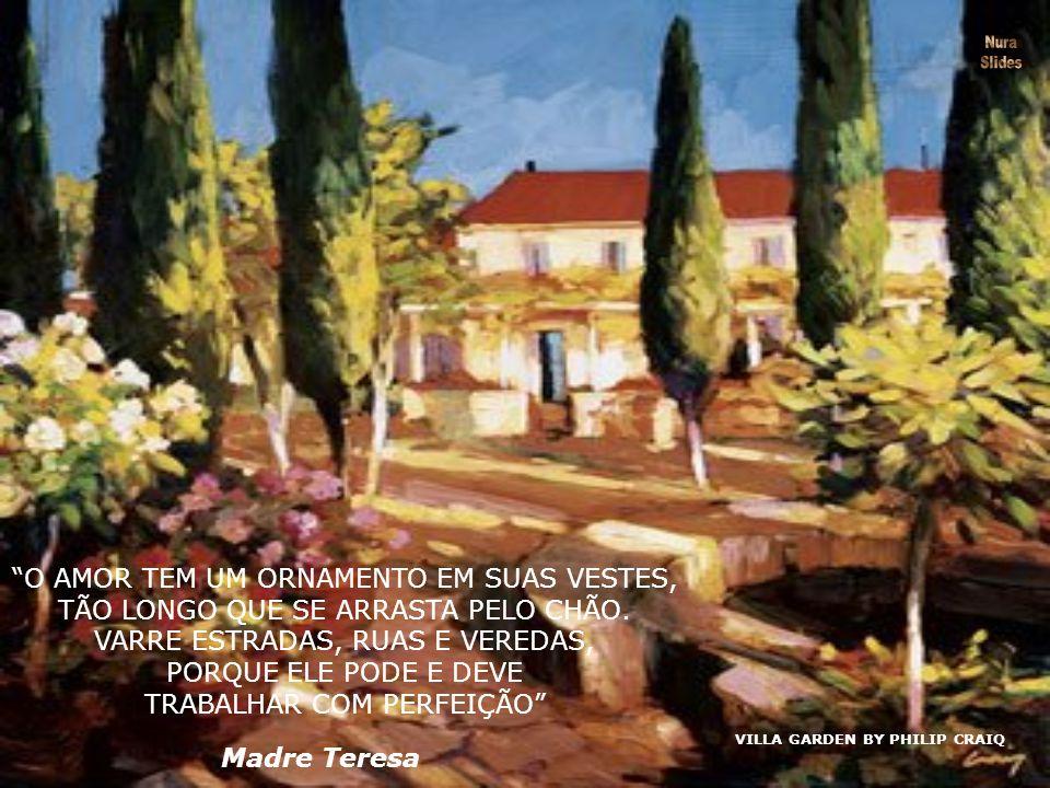 SPRING ORCHARD BY PHILIP CRAIQ ELE DESENHOU UM CÍRCULO E IMPEDIU MINHA ENTRADA.