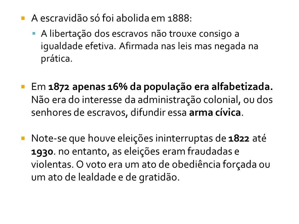  A identidade do Brasil, construída na perspectiva do atraso (subdesenvolvimento), é dada pelo que lhe falta.