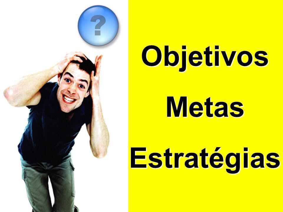 Objetivos Metas Estratégias