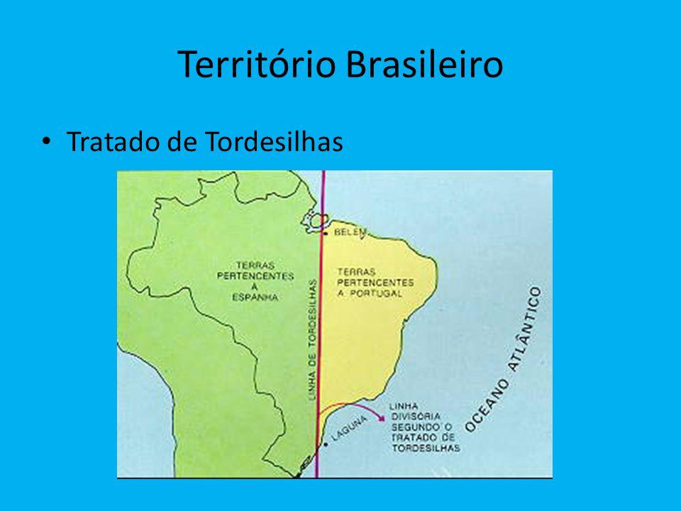 Território Brasileiro Tratado de Tordesilhas