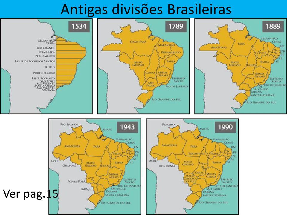 Antigas divisões Brasileiras Ver pag.15