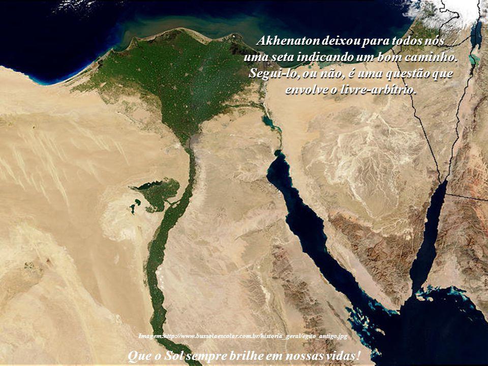 Nas areias quentes do Antigo Egito surgiu uma grande Luz em nossa história: Akhenaton. Seu reinado foi curto, mas suas idéias venceram o poder do temp