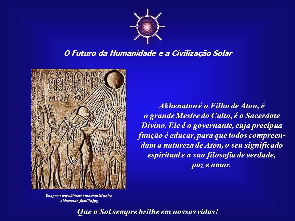 ☼ O Futuro da Humanidade e a Civilização Solar Que o Sol sempre brilhe em nossas vidas! Transcreveremos, a seguir, um trecho de seu livro: CAPÍTULO XI