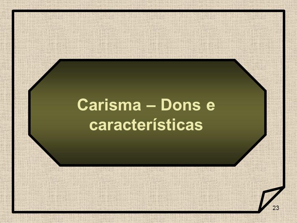 23 Carisma – Dons e características