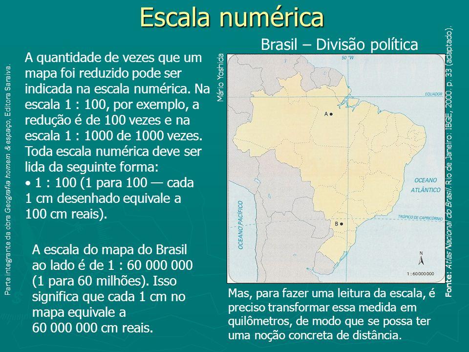Parte integrante da obra Geografia homem & espaço, Editora Saraiva.