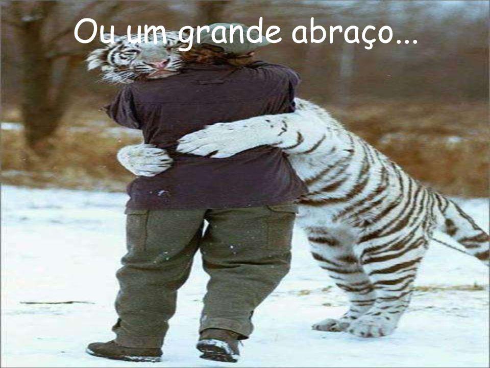 Ou um grande abraço...