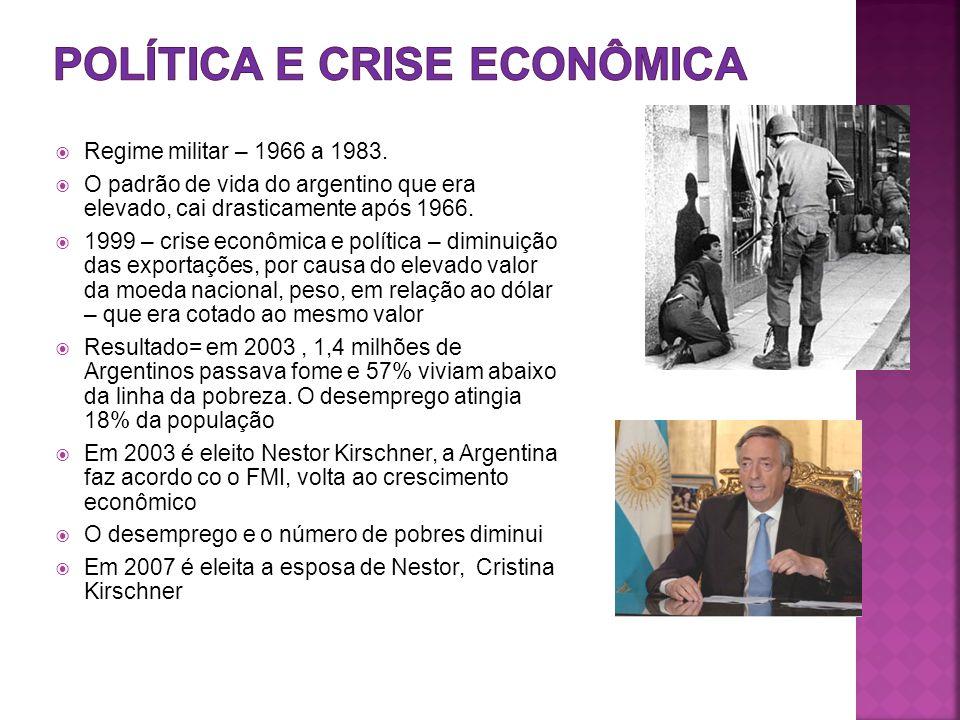  Regime militar – 1966 a 1983.