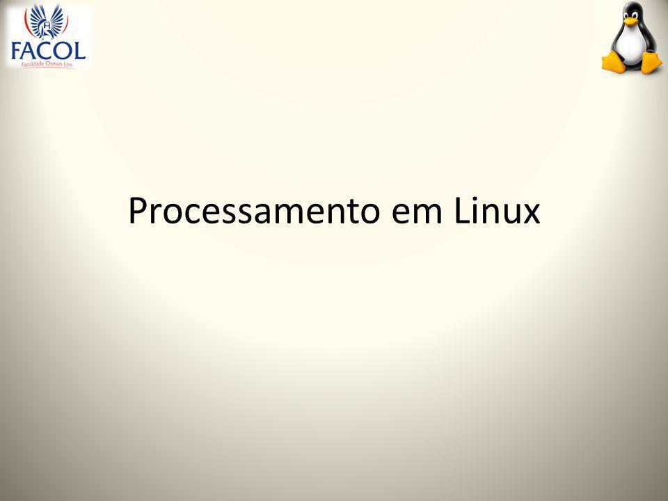 Processamento em Linux