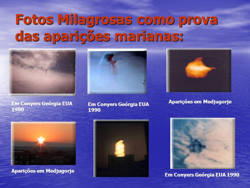 Fotos Milagrosas como prova das aparições marianas: Em Conyers Geórgia EUA 1990 Aparições em Medjugorje Em Conyers Geórgia EUA 1990