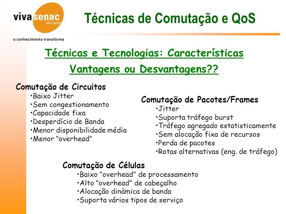 Técnicas e Tecnologias: Características Vantagens ou Desvantagens?.