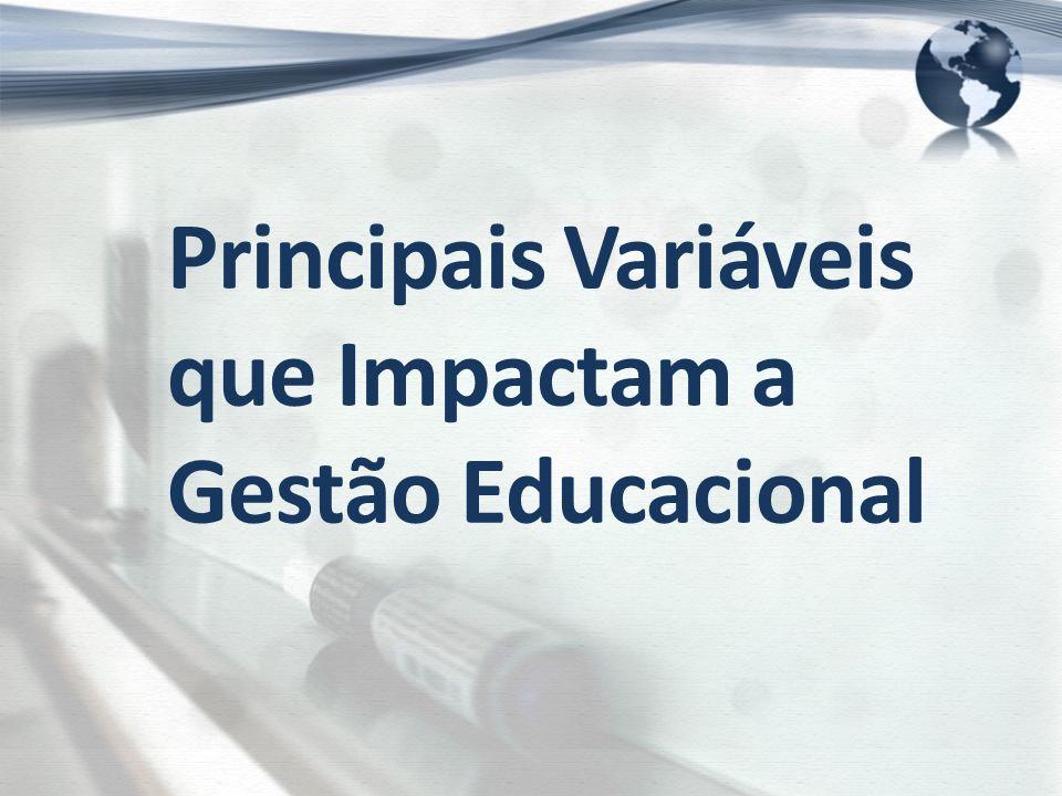 Principais Variáveis que Impactam a Gestão Educacional
