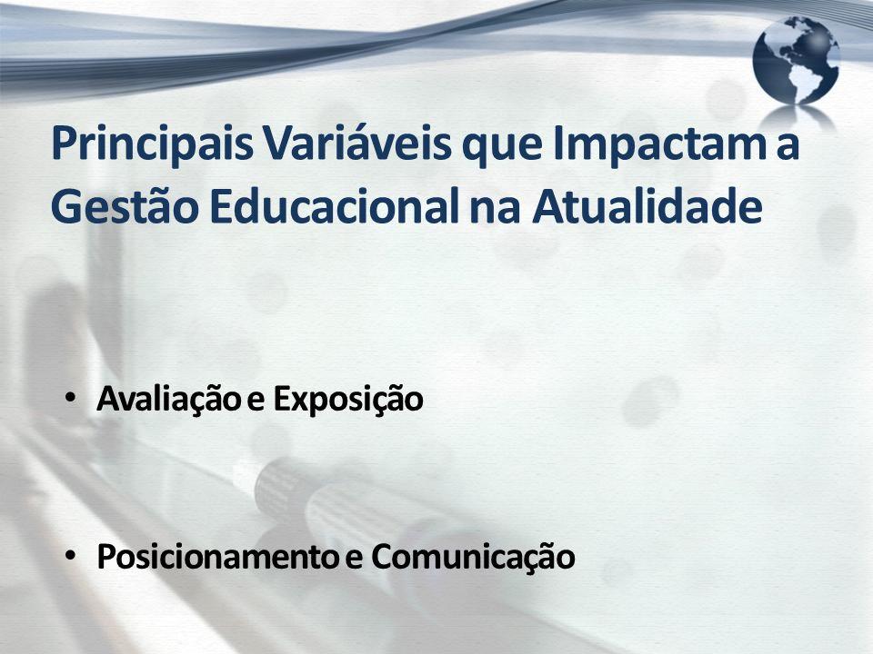 Posicionamento das Instituições de Educação As que competem por imagem de qualidade percebida