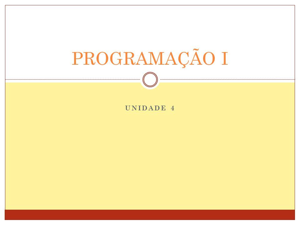 Interrupção de Laços Programação I 12 Comando break ─ Interrompe a execução do comando de laço.