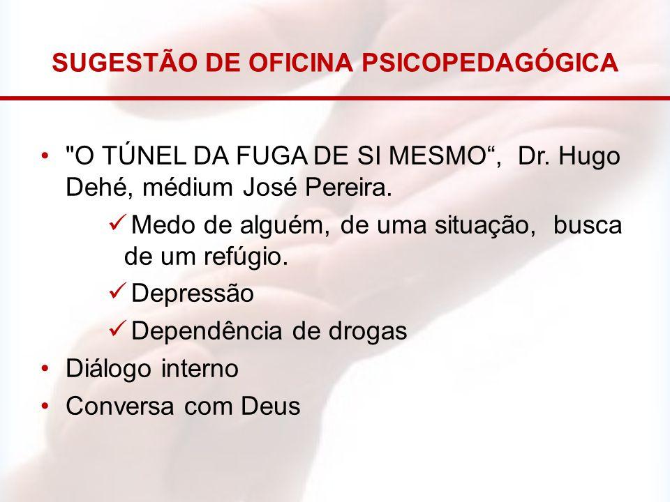 SUGESTÃO DE OFICINA PSICOPEDAGÓGICA