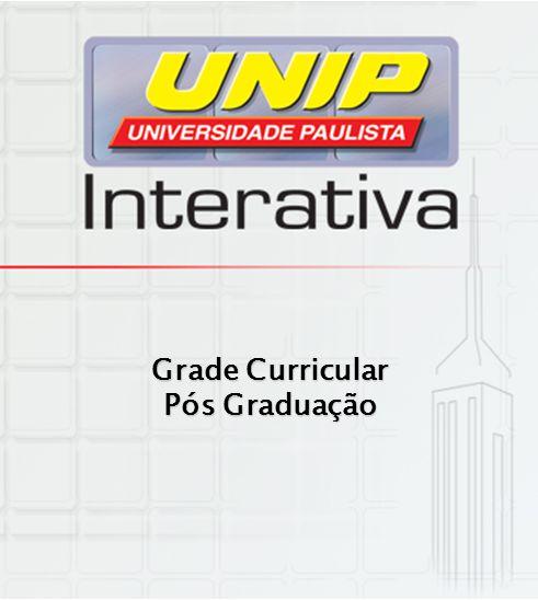 Grade Curricular Pós Graduação