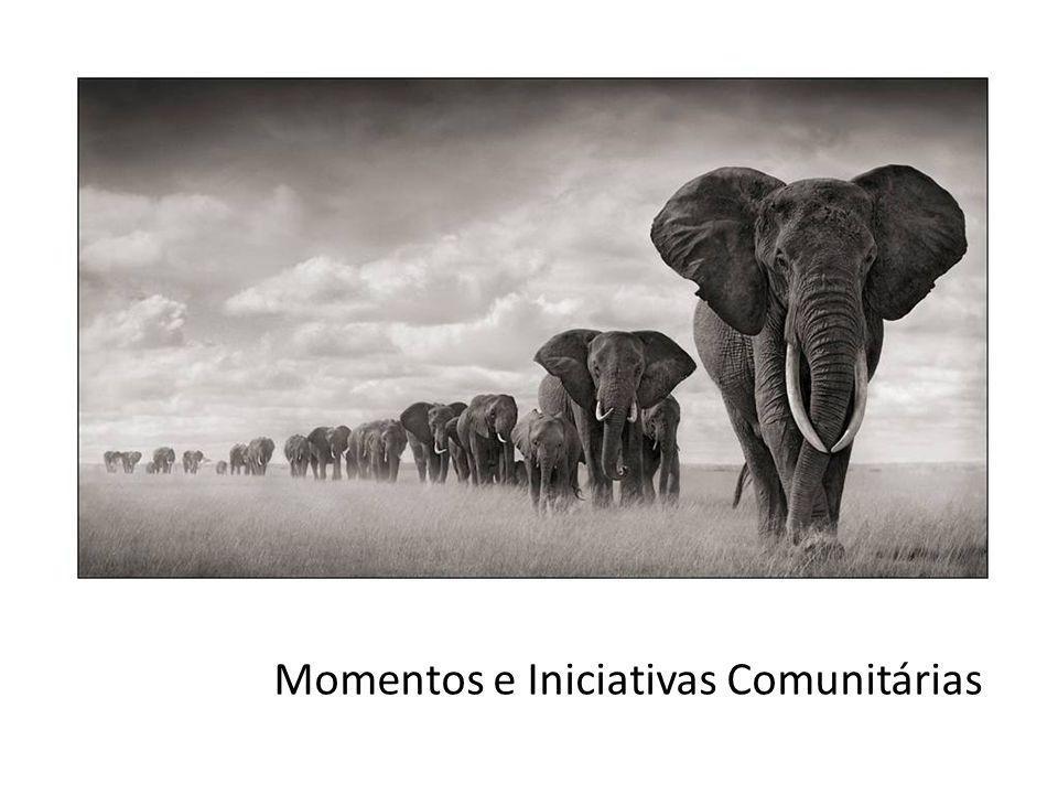 Momentos e Iniciativas Comunitárias
