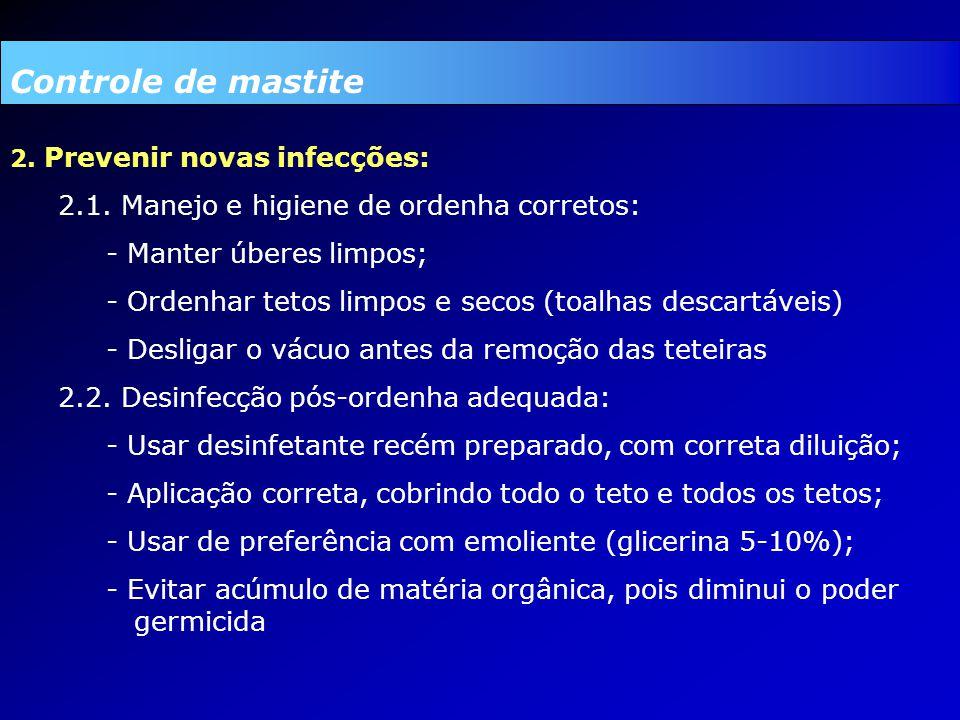 2.Prevenir novas infecções: 2.1.