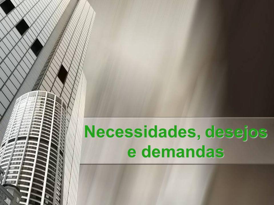 Necessidades, desejos e demandas