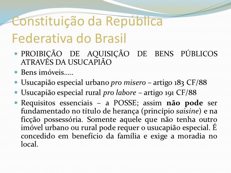 Usucapião Coletivo (imóveis urbanos) Estatuto da cidade – Lei 10.257/2001 – artigo 10.
