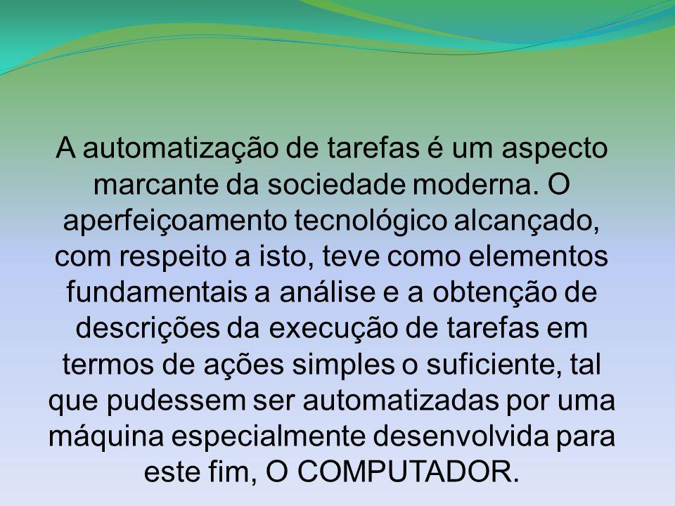 A automatização de tarefas é um aspecto marcante da sociedade moderna.
