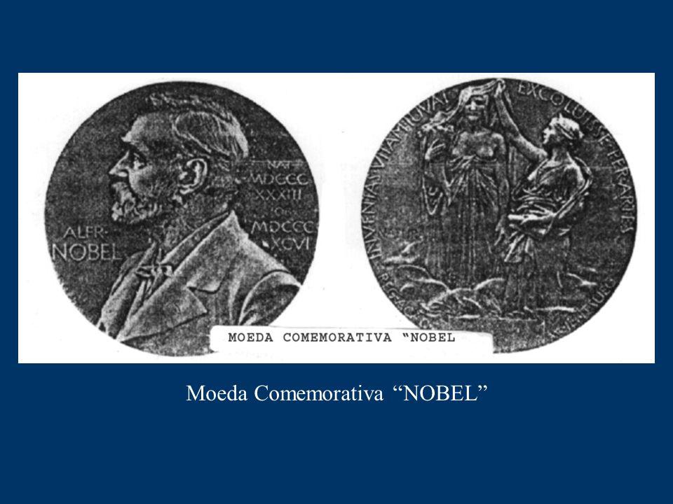 "Moeda Comemorativa ""NOBEL"""