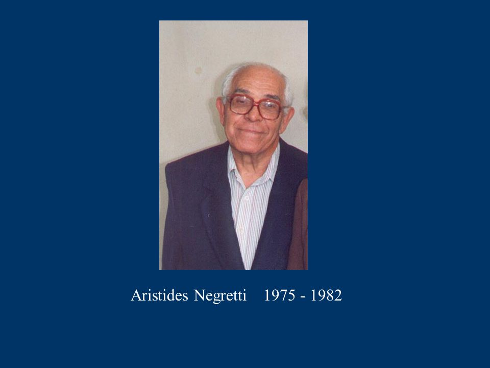 Aristides Negretti 1975 - 1982