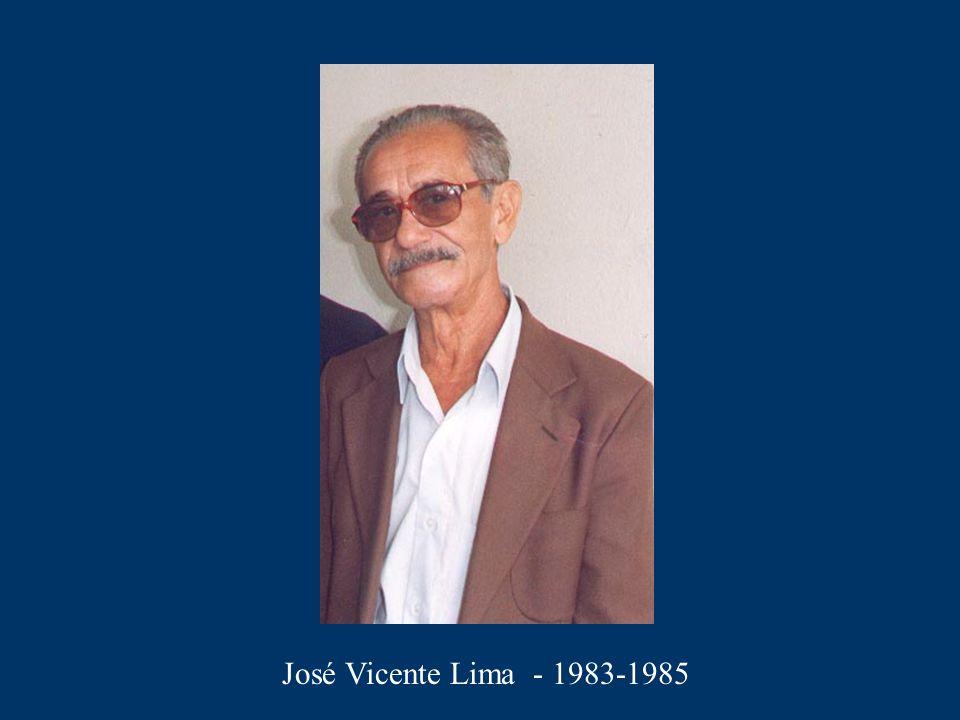 José Vicente Lima - 1983-1985