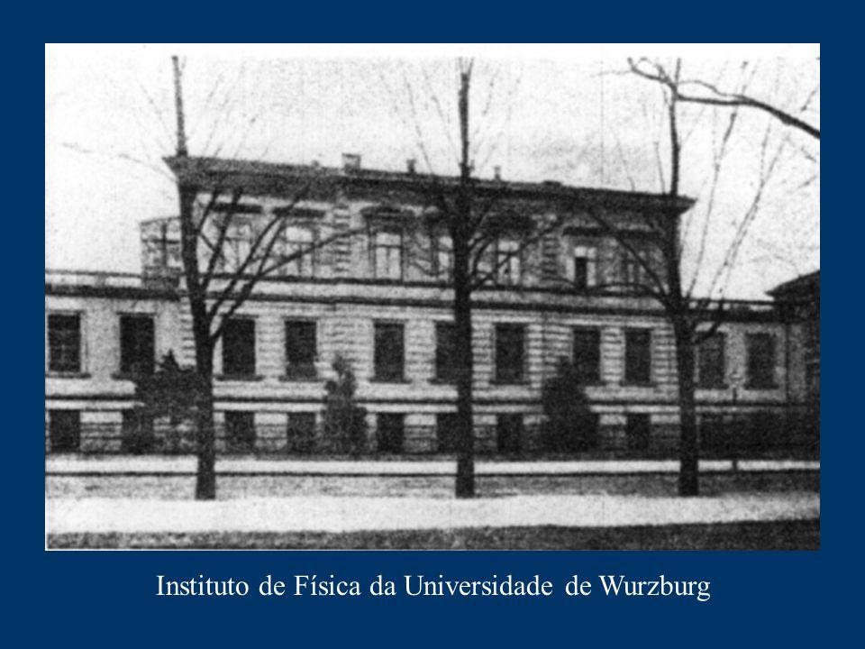 Laboratório onde o Prof. Roentgen descobriu os raios-X