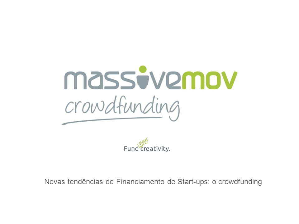 Crowdfunding é uma forma inovadora de apoiar projetos na Internet. A multidão faz o projeto