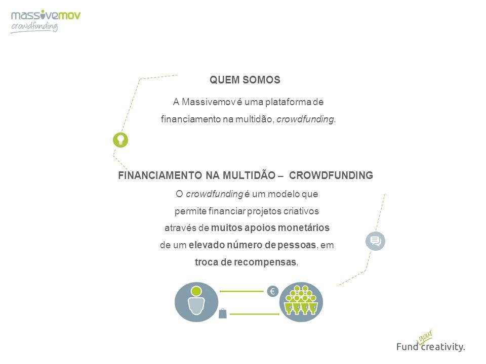 O crowdfunding é um modelo que permite financiar projetos criativos através de muitos apoios monetários de um elevado número de pessoas, em troca de r