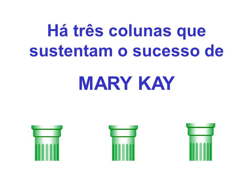 Há três colunas que sustentam o sucesso de MARY KAY