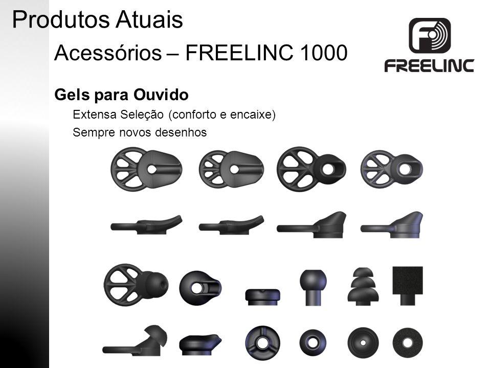 Suporte de Orelha Extensa Seleção (conforto e encaixe) Sempre novos desenhos Produtos Atuais Acessórios – FREELINC 1000