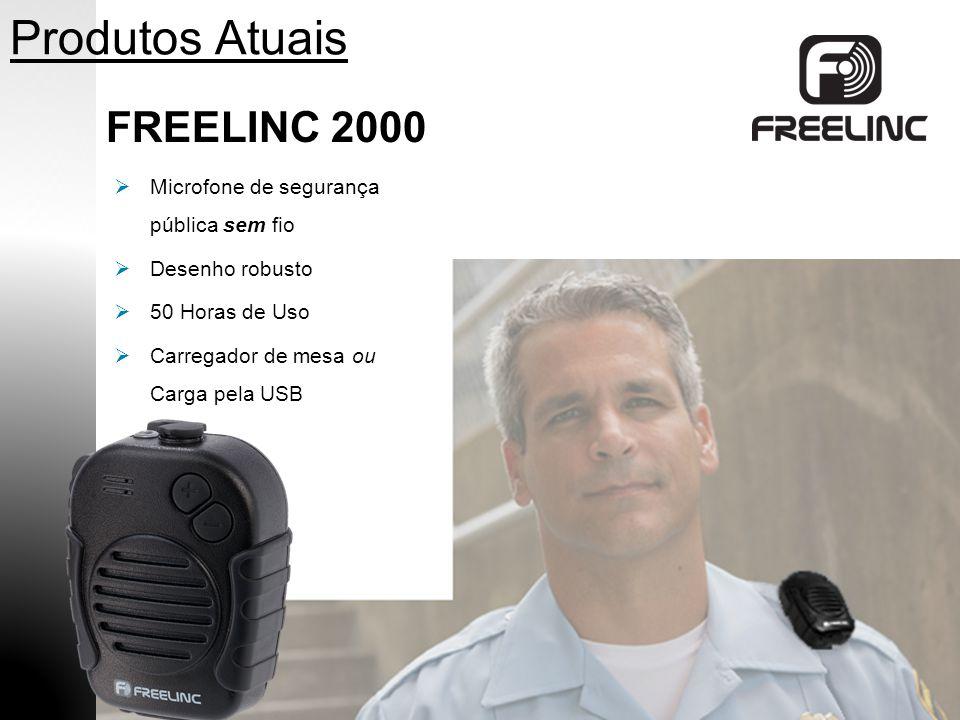 Produtos Atuais FREELINC 2000 Alto-Falante de Alta Qualidade Microfone Controle de Volumen PTT para Auricular de 2.5 mm 100% Sem Fio
