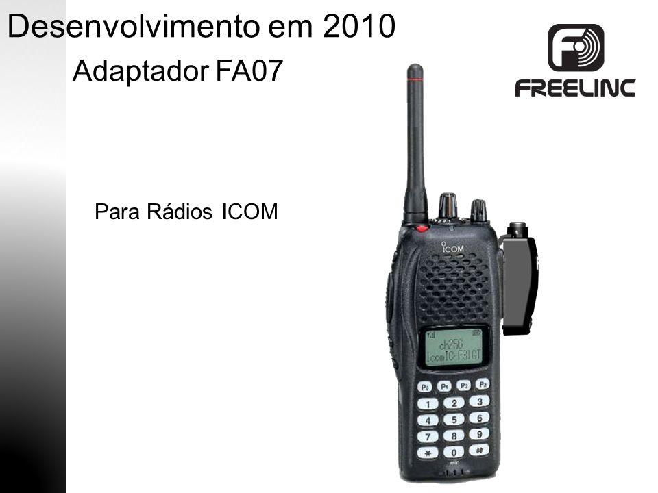  PTT Remoto  Adaptador para rádios Motorola EX500/600  Adaptador para rádios Motorola de dois-(2) pinos  Adaptador para rádios Kenwood de dois-(2) pinos  Microfone para Exército Futuro Desenvolvimento