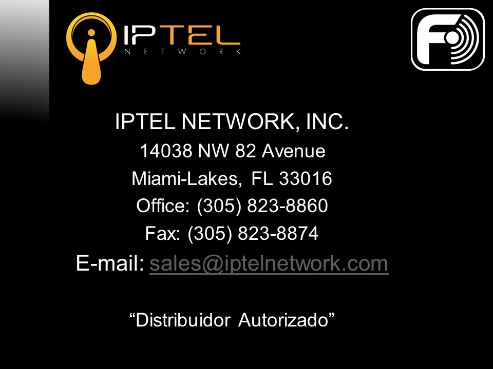 IPTEL NETWORK, INC.