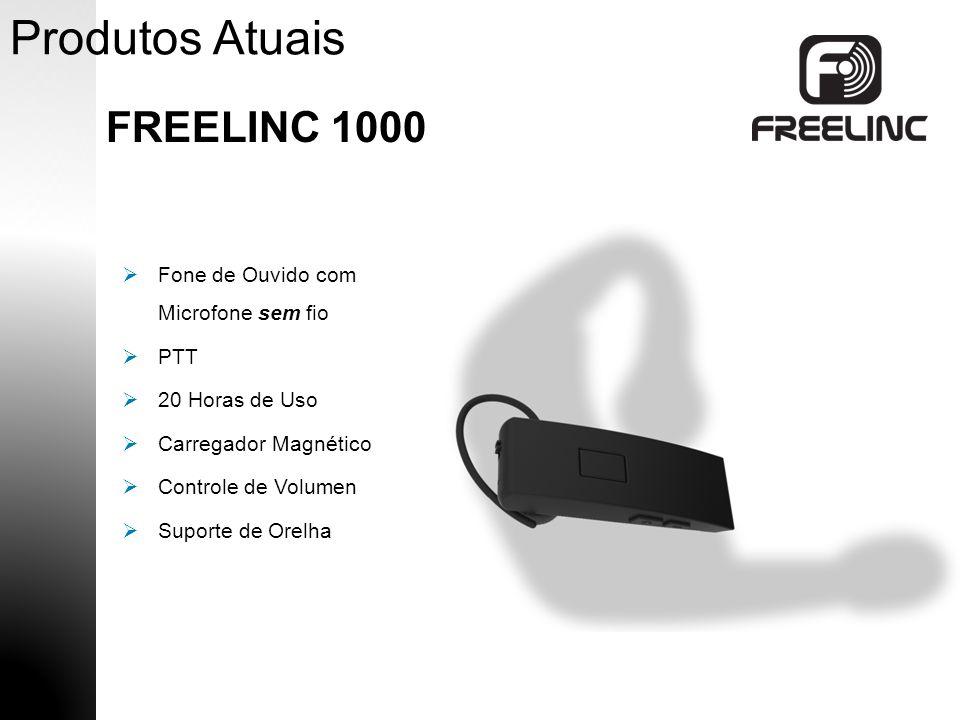 Produtos Atuais FREELINC 1000 PTT Controle de VolumenAuricular