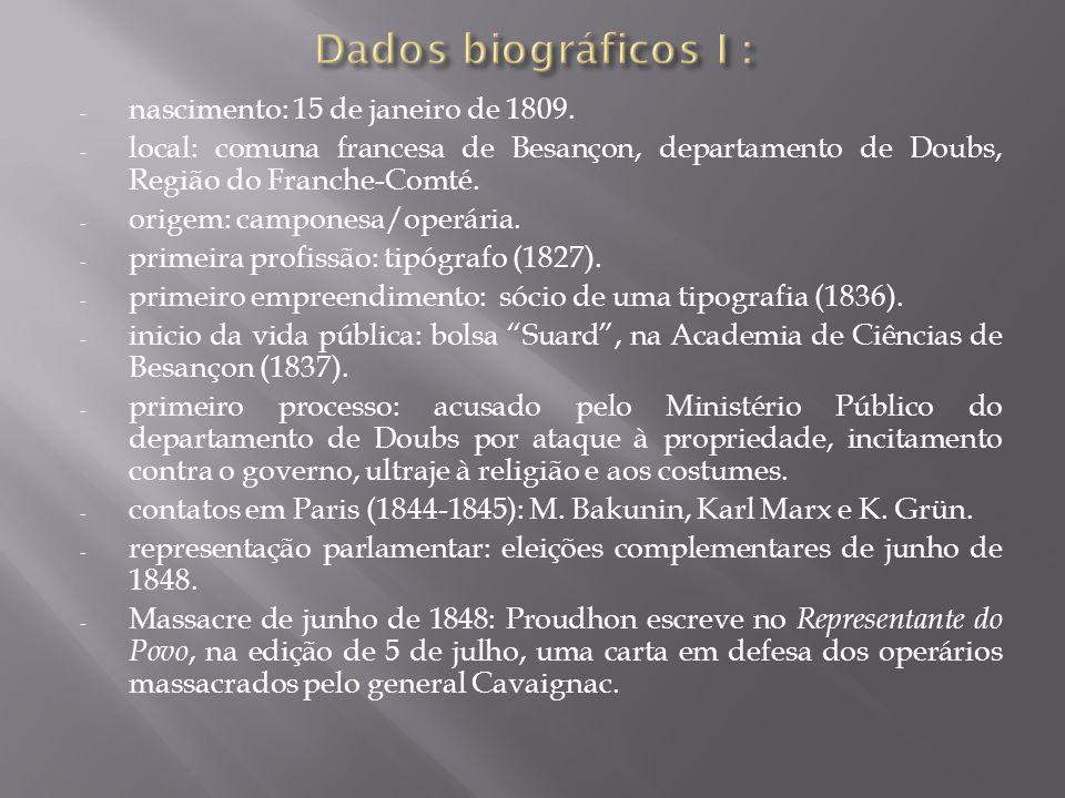 - nascimento: 15 de janeiro de 1809.