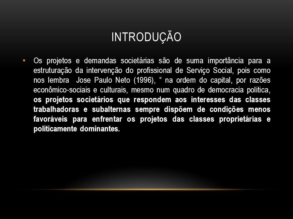 SERVIÇO SOCIAL NO BRASIL A trajetória histórica da implantação das primeiras escolas de Serviço Social no Brasil.