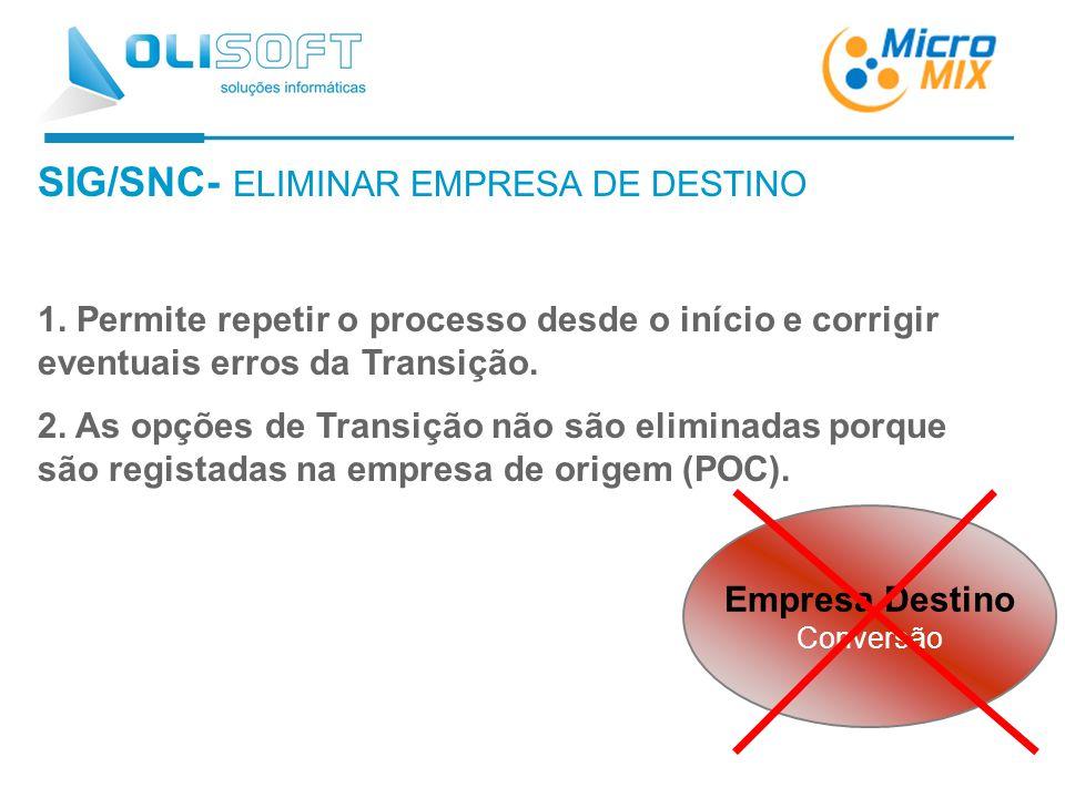 SIG/SNC- ELIMINAR EMPRESA DE DESTINO 1.