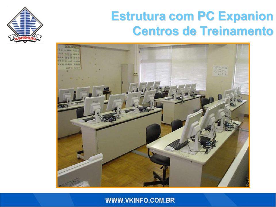 Estrutura com PC Expanion Centros de Treinamento