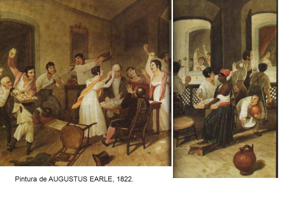 Pintura de AUGUSTUS EARLE, 1822.