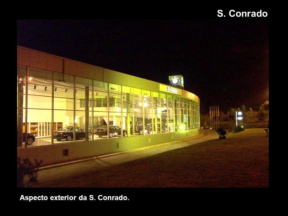 Aspecto exterior da S. Conrado. S. Conrado