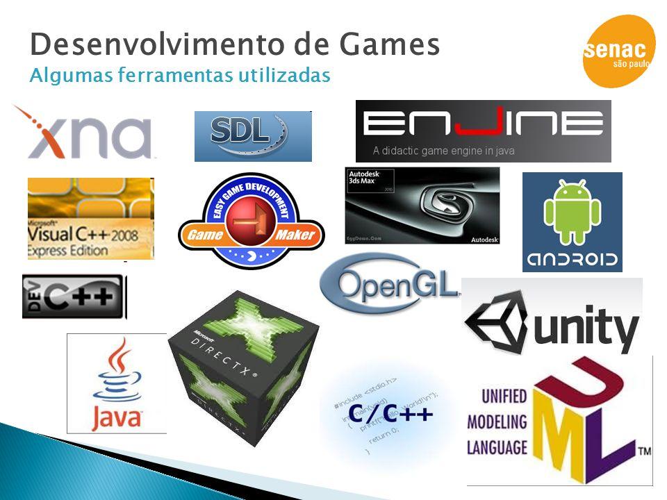 Desenvolvimento de Games Algumas ferramentas utilizadas