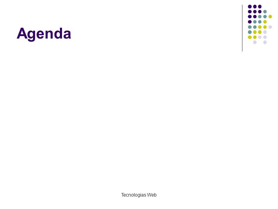 Tecnologias Web Agenda
