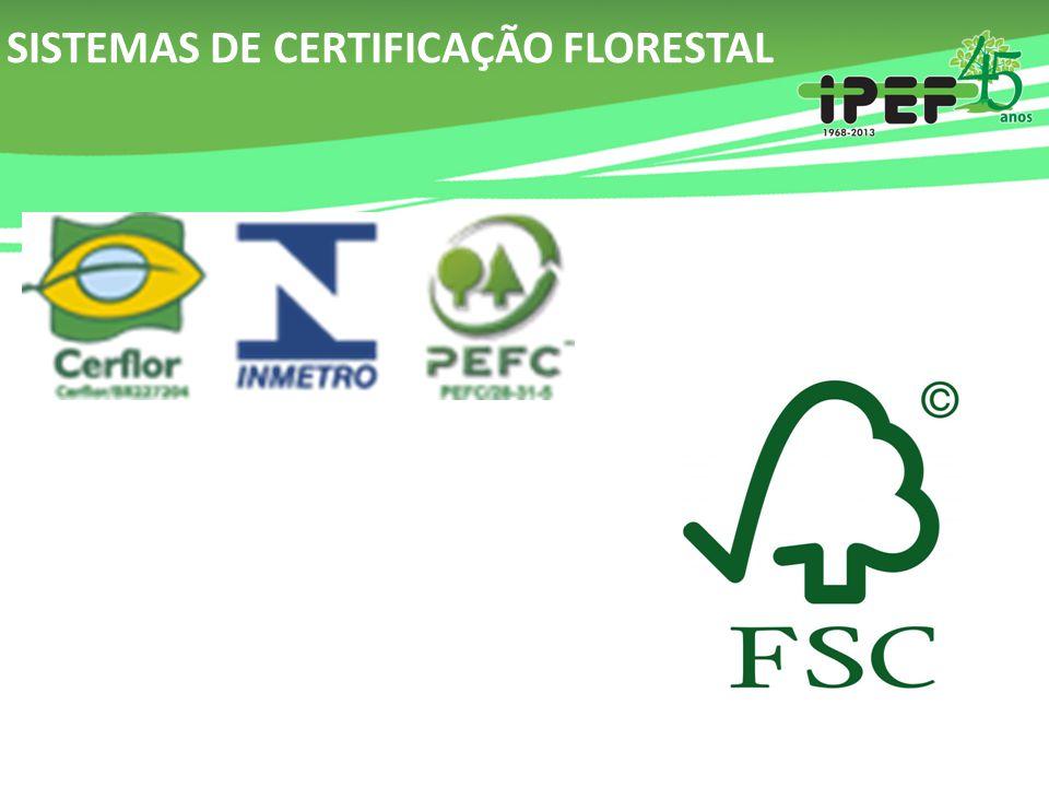 SISTEMAS DE CERTIFICAÇÃO FLORESTAL
