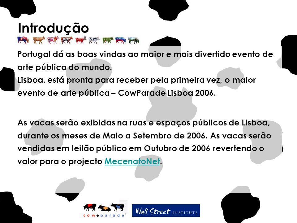 Introdução Portugal dá as boas vindas ao maior e mais divertido evento de arte pública do mundo. Lisboa, está pronta para receber pela primeira vez, o