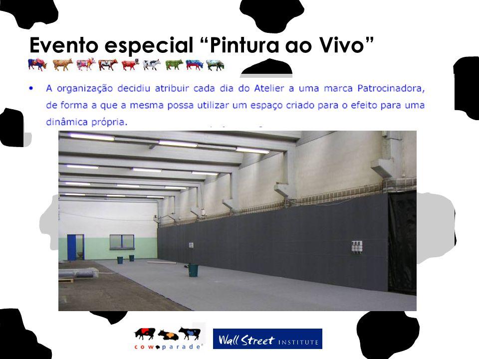 """Evento especial """"Pintura ao Vivo"""""""
