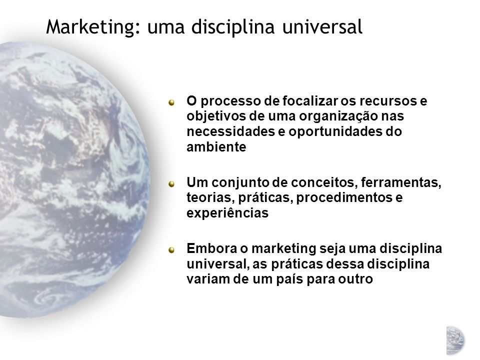 Marketing Global Sistemas de Informação e Pesquisa de Marketing Global